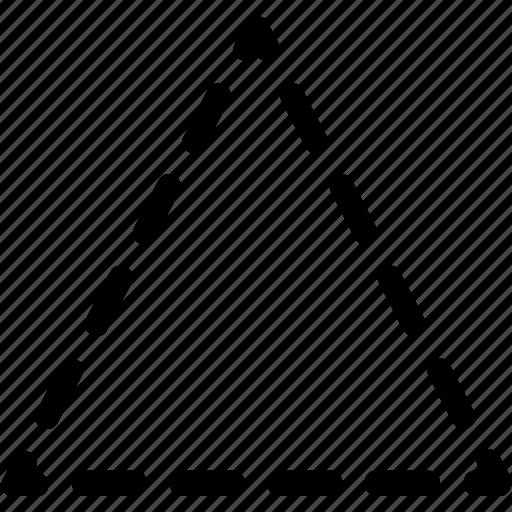 basic, geometrical, shape, stripe, triangle icon