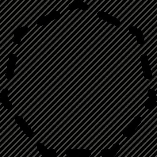 basic, geometrical, hectagon, shape, stripe icon