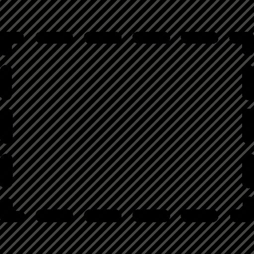 basic, geometrical, rectangle, shape, stripe icon