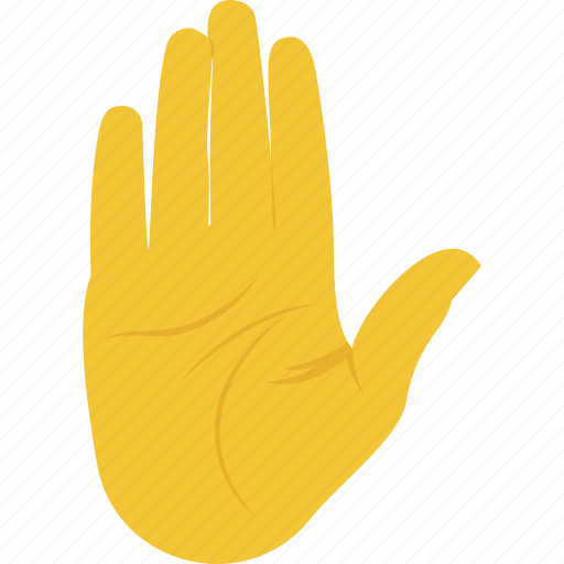 hand gesture, hand palm, palm prevention, stop, warning sign icon