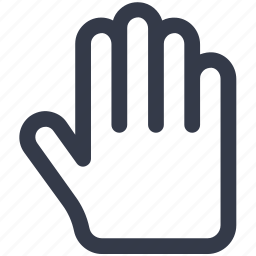 finger, tap, touch, tree icon icon
