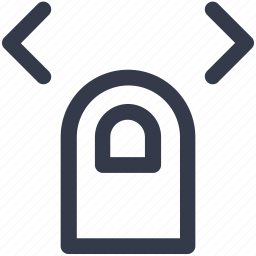 double, finger, left, right, slide, tap icon icon