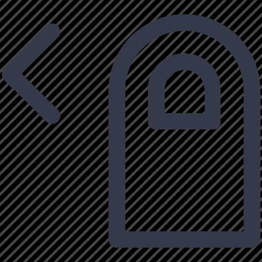 double, finger, left, slide, tap icon icon