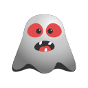 angry, devil, emoji, emoticon, evil, ghost, grinning, smile, smiley icon