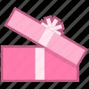 birthday, christmas, party, present icon