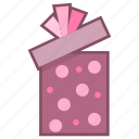 birthday, gift, present, surprise icon