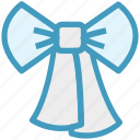 decoration, gift, gift bow, package, present, ribbon, ribbon bow icon