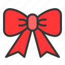 bow, box, christmas, gift, present, ribbon