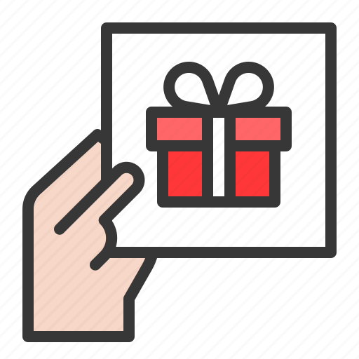 Box, card, christmas, gift, holiday, present icon - Download on Iconfinder