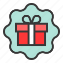 box, christmas, gift, package, present icon