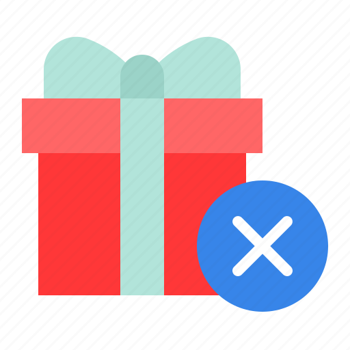 Box, christmas, gift, package, present, remove icon - Download on Iconfinder
