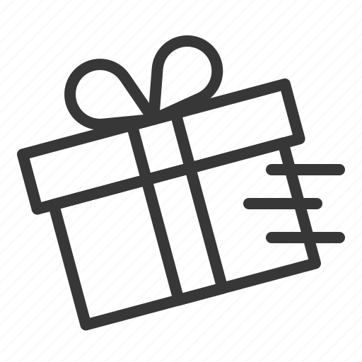 Box, christmas, delivery, gift, package, present, transport icon - Download on Iconfinder