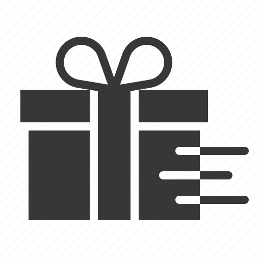 Box, gift, package, delivery, christmas, present icon