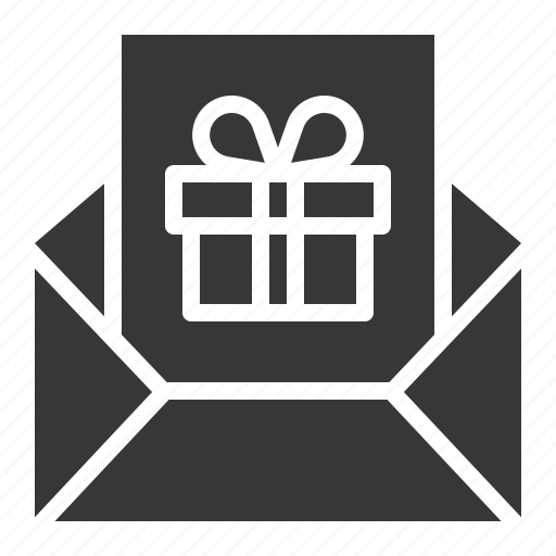 box, card, christmas, gift, letter, mail, present icon