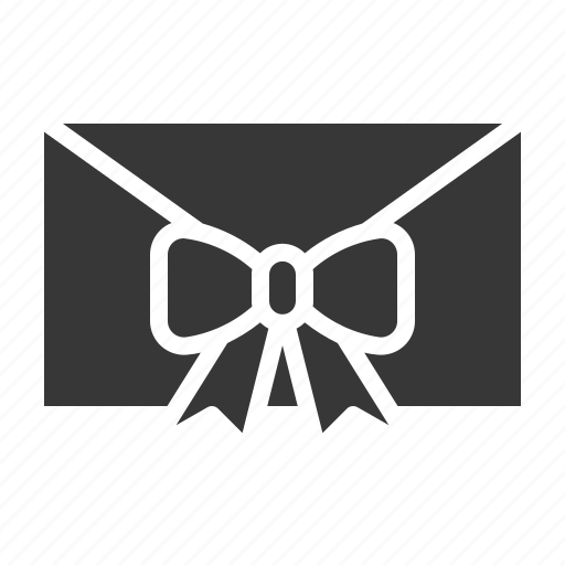 box, christmas, gift, letter, mail icon
