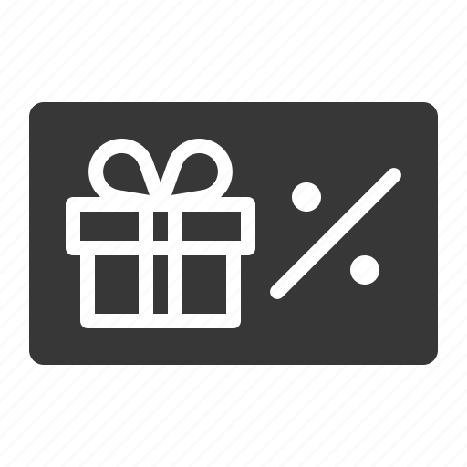 box, card, christmas, coupon, discount, gift, voucher icon