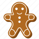 biscuit, christmas, cookie, gingerbread, man, sweets
