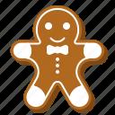 biscuit, christmas, cookie, cute, food, gingerbread
