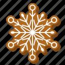 biscuit, christmas, cookie, gingerbread, snowflake, winter