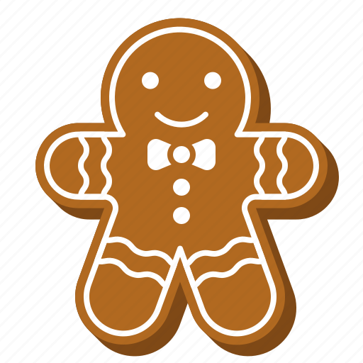 biscuit, cookie, cute, dessert, gingerbread, xmas icon