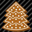 biscuit, christmas tree, cookie, gingerbread, pine tree, xmas
