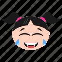 cat, emoji, emoticon, face, girl, kitten, women icon