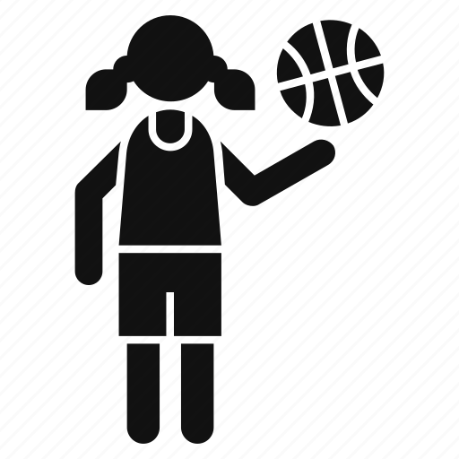 activity, girl, people, profession, soccer, stand up, woman icon