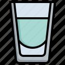 shot, glass, standart, food, restaurant, alcoholic, drink