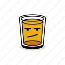 alcohol, annoyed, beer, beverage, bored, drink, glass icon