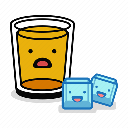 alcohol, beer, beverage, drink, glass, ice, sad icon