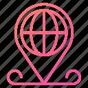 global, global business, location, navigation, pin icon