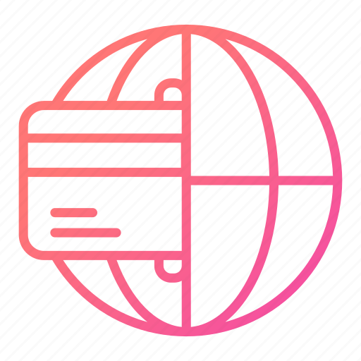 global, global business, payment, transaction icon