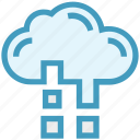 business, cloud, global business, network, technology icon