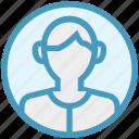 businessman, human, male, user icon