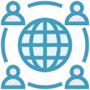 earth, global business, globe, sharing, team, users