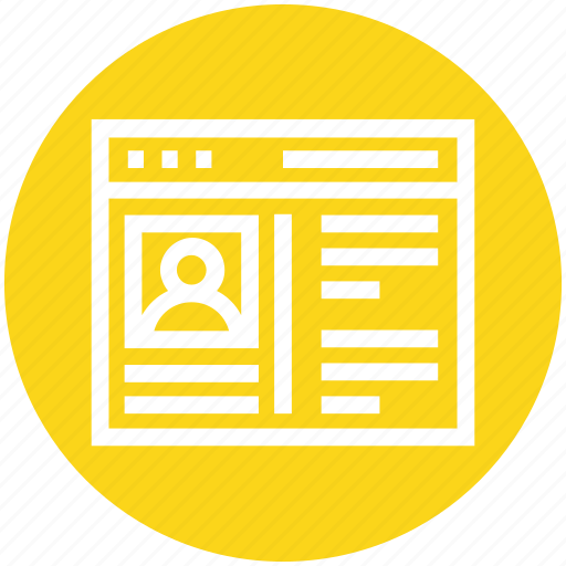Global business, management, profile, user, website icon - Download on Iconfinder