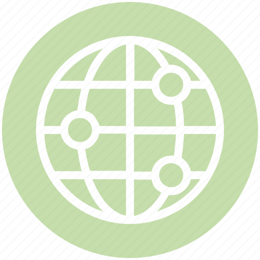 Circle, cosmos, global business, globe, orbit, space, technology icon - Download on Iconfinder