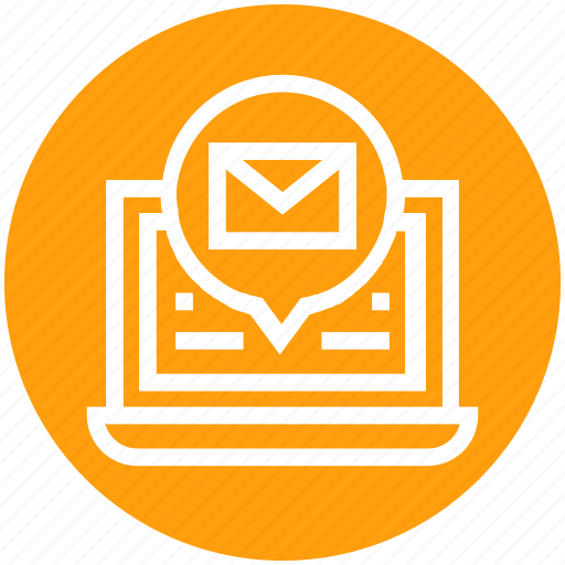 Communication, computer, email, envelope, global business, laptop, networking icon - Download on Iconfinder