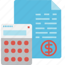 statements, globalbusiness, financial, accounting, standards icon