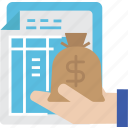globalbusiness, quotation, money, payment, bill icon