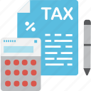 tax, globalbusiness, business, accountant, fees icon
