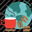 globalbusiness, coffee, world, business, global icon