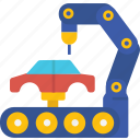 globalbusiness, factory, assembly, manufacturers, vehicle icon