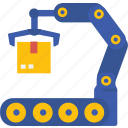 globalbusiness, productionmachines, factory, process, manufacturing icon