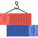 globalbusiness, container, international, trade, cargo icon