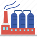 globalbusiness, factory, plant, operating, industrial icon