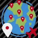 globalbusiness, worldwide, international, business, global icon