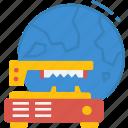 globalbusiness, international, machinery, world, global icon