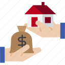 globalbusiness, house, building, mortgage, loan icon