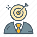 arrow, focus, marketing, strategy, target